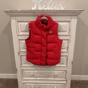 Womens Superdry Vest in Bright red!